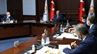 AK Parti'de Cumhurbaşkanı Erdoğan başkanlığında kritik toplantı: Masada yeni anayasa var