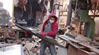Lodos Bursa'yı yıktı geçti: Bir iş yeri dayanamayıp yıkıldı