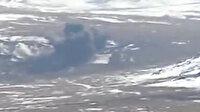 Kars'tan nefes kesen görüntüler: F-16'lar hedefleri böyle vurdu
