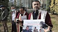 Türk akademisyenlerden ailelerinden haber alamayan Uygur Türklerine destek