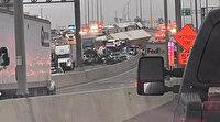 Texas'ta 70'den fazla araç birbirine girdi: 3 kişi öldü