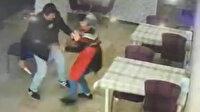 Tekirdağ'da indirim yapmayan kadın dönercinin bıçaklandığı an kamerada