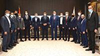 ASKON'dan MÜSİAD ve TÜMSİAD'a sivil anayasa ziyareti