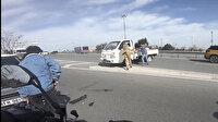 Avcılar'da makas dehşeti: Kadın sürücüye güpegündüz kabusu yaşattı