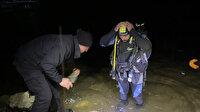 Samsun'da cenaze dönüşü baraj gölüne devrilen pikaptaki 3 kişi öldü