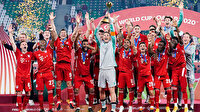 Bayern Münih'ten tarihi başarı: Bir sezonda 6. kupasını kaldırdı