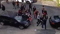 Antalya'da komşular birbirine girdi, ortalık savaş alanına döndü