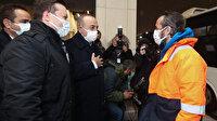 Kurtarılan 15 denizci İstanbul'da