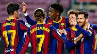 Messi şov yaptı: Barcelona, Alaves'i 5-1 mağlup etti (ÖZET)
