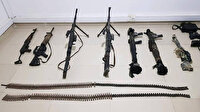 13 sivilin şehit edildiği mağarada teröristlere ait silah ve mühimmat ele geçirildi