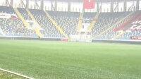 Eryaman Stadyumu'nda son durum: Maç saati yoğun kar yağışı bekleniyor