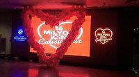 İBB binasındaki 15 Temmuz Şehitleri Köşesi şimdi de 'sevgililer günü' kutlamalarına sahne oldu