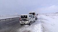 Silivri E-5 karayolunda 7 aracın karıştığı zincirleme kaza