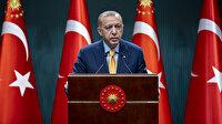 Cumhurbaşkanı Erdoğan: Terör örgütüne kınama yapmaya dilleri varmayanları ibretle takip ediyoruz