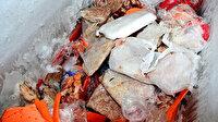 Markette gıda terörü: Dondurma dolabını açan ekipler gözlerine inanamadı