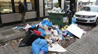 Kadıköy'de çöp dağları: Belediye işçileri grev yaptı, ilçe çöple doldu