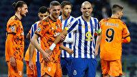 Şampiyonlar Ligi maçında Pepe ve Merih Demiral arasında gerginlik