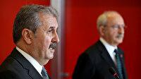 Mustafa Destici: Ha Kandil'de Karayılan ha Meclis sıralarında oturan kara çiyan, ha Duran Kalkan ha Pervin Buldan