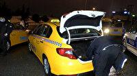 Kokudan rahatsız olunca polisi aradı: Müşterinin dikkati taksideki uyuşturucuyu yakalattı
