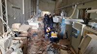 Fabrikada buhar kazanı patladı: Bir anda ortalık cehenneme döndü