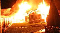 Boğaziçi Üniversitesi kampüsündeki kafe alev alev yandı
