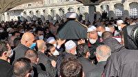 Emin Saraç Hoca için cenaze töreni