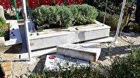 Adana'da 15 Temmuz şehitleri ikiz kardeşlerin mezarları tahrip edildi