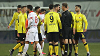 TFF 1. Lig maçında 'kural hatası' iddiası: Yanlış oyuncuya mı kırmızı kart gösterildi?