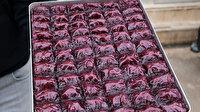 Mor baklava üretti siparişlere yetişemiyor: Biraz ekşi biraz tatlı