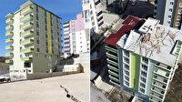 Samsun'da tahliye edilen 9 katlı binanın çatısı uçtu: Mahalleli tedirgin