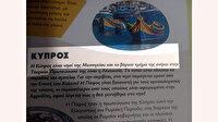 """Yunanistan'da """"Kıbrıs'ın kuzeyi Türklere ait"""" yazılı dergi toplatıldı"""