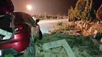 Manisa'da tahrip edilen mezar taşlarının sırrı ortaya çıktı: Sürücü dalgınlıkla kırmış