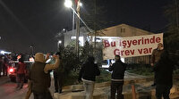 Maltepe Belediyesinde işçiler greve başladı