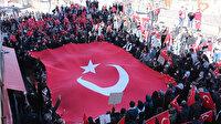 Teröre karşı tek yürek: Şırnak'ta terör örgütü PKK'ya tepki yürüyüşü
