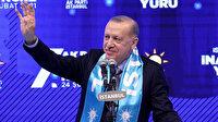 Cumhurbaşkanı Erdoğan: İstanbul'a hizmet etmek şereflerin en büyüğü