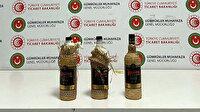 İstanbul Havalimanı'nda içki şişesinde yurda sokulmaya çalışılan sıvı uyuşturucu ele geçirildi