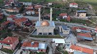 Cumhurbaşkanı Erdoğan'ın talimatıyla yapılan Asmacık Cami açılış için gün sayıyor