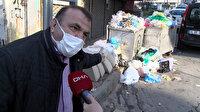 Maltepeliler toplanmayan çöplere isyan etti: Bu ne rezillik Allah aşkına, virüsten daha tehlikeli değil mi bu?