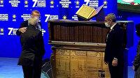 Dünyada ilk ve tek: Erdoğan'a hediye edilen eseri 27 ayda hazırladı