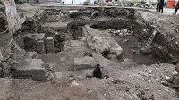 Yerin metrelerce altından Roma dönemine ait tarihi eser çıktı