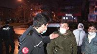 Alkollü kazan yapan gençlerden polise: Kaskodan para almayalım diye uğraşıyorsun