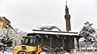 Erzurum Büyükşehir Belediyesi karla mücadelede de      Türkiye'ye örnek belediye oldu