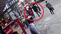 Yoldan geçen bir adam kaldırımda anneannesini bekleyen 13 yaşındaki çocuğa yumruk atıp kaçtı
