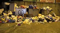 Maltepe çöplüğü: İşçiler greve gitti sokaklar pislik içinde