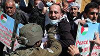 İsrail askerleri 'İbrahim Camii Katliamı'nın anma gösterisine baskın düzenledi