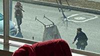 Başakşehir'de kağıt toplayıcılarına pompalı tüfekli saldırı kamerada