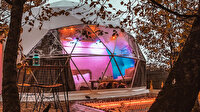 Türkiye'de bir ilk: İstanbul'a çok yakın doğada lüks çadırda tatil keyfi