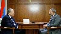 Paşinyan'dan Ermenistan Cumhurbaşkanına: Darbecilerle birlikte hareket ediyorsun