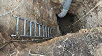Sarıyer'de 15 metre derinlikte suçüstü yakalanan defineciler serbest