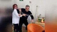 İzmir'de doktor hasta yakınlarına saldırdı